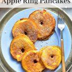pumpkin pie apple ring pancakes pinterest pin