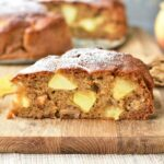 apple walnut cake