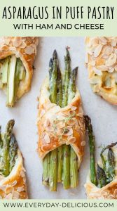 asparagus in puff pastry pin