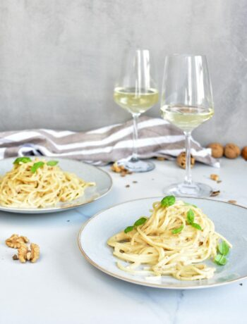gorgonzola walnut pasta