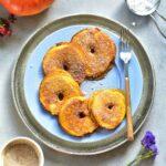 pumpkin pie apple ring pancakes