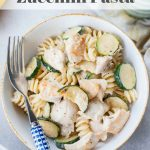 chicken zucchini pasta pin