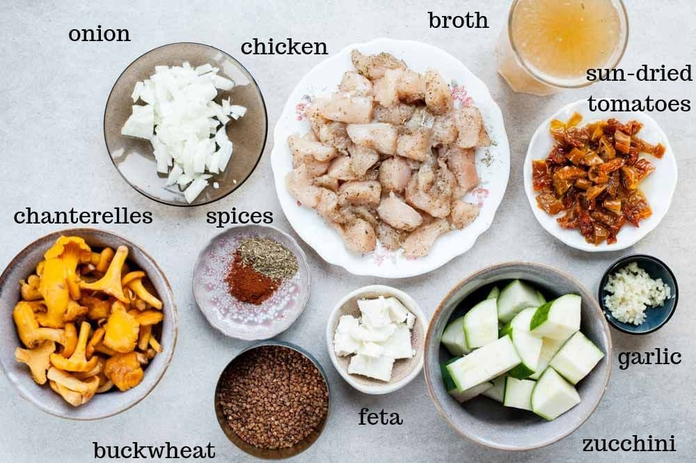 buckwheat risotto ingredients