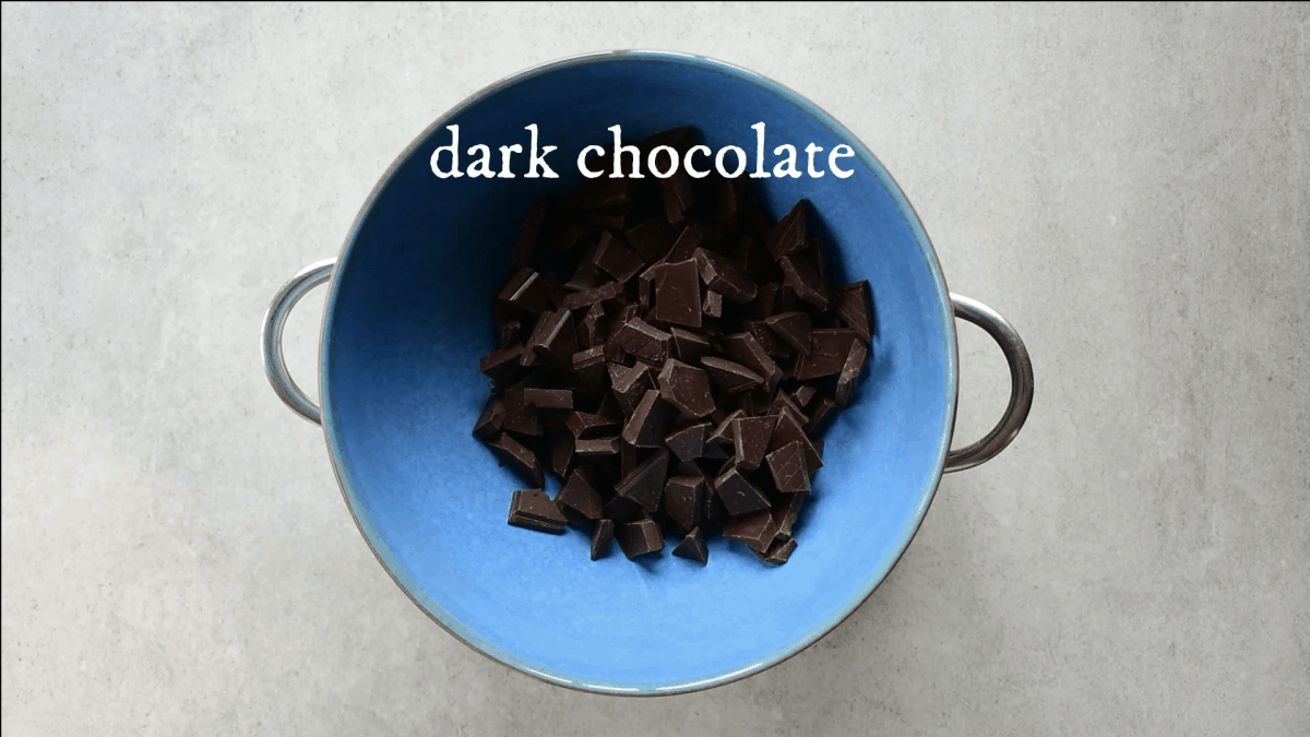 chocolate in a bowl