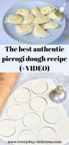 pierogi dough pin