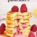 lemon ricotta pancakes pin