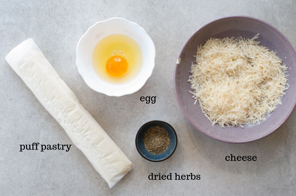 puff pastry cheese straws ingredients