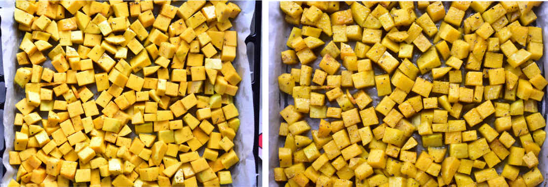roasted squash preparation steps