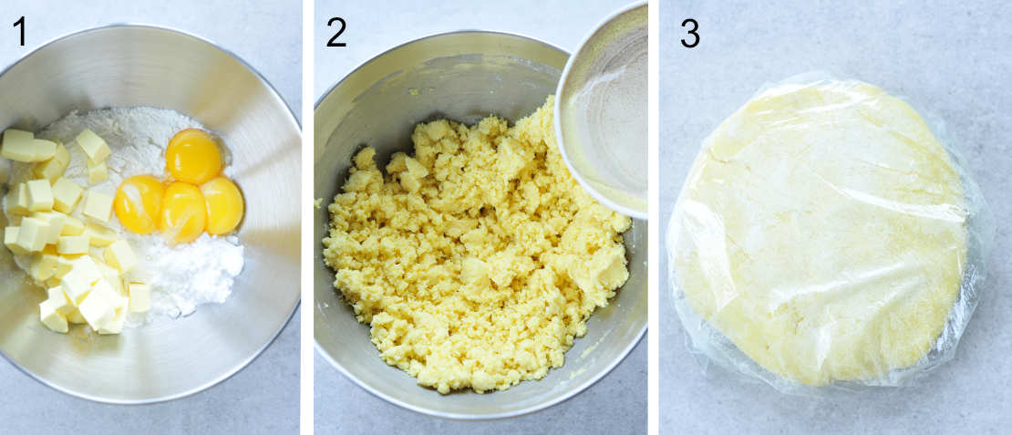 pastry crust preparation steps