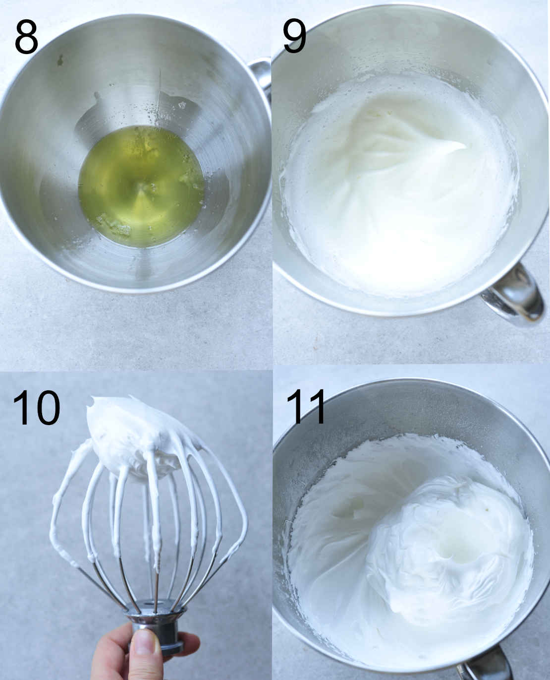 meringue preparation steps