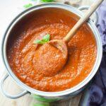 meatless tomato sauce