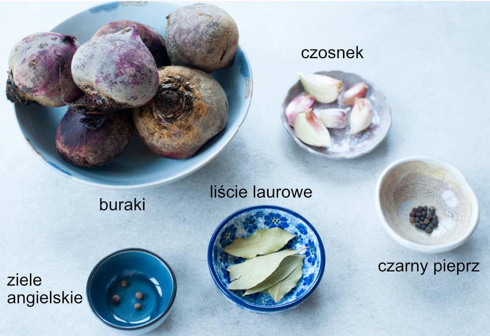 składniki na zakwas na barszcz