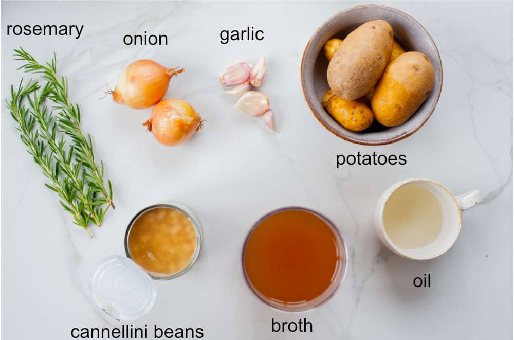 white bean soup ingredients