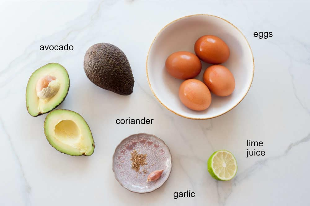 avocado egg salad ingredients