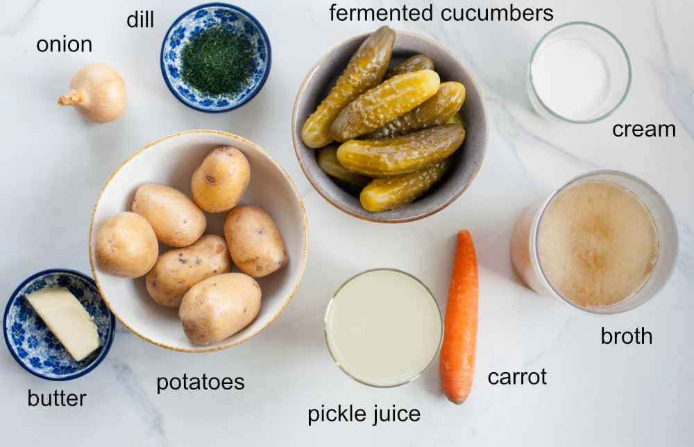 dill pickle soup ingredients