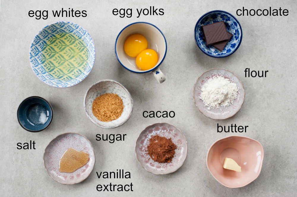 ingredients needed for chocolate omelet