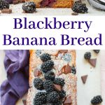 blackberry banana bread pin