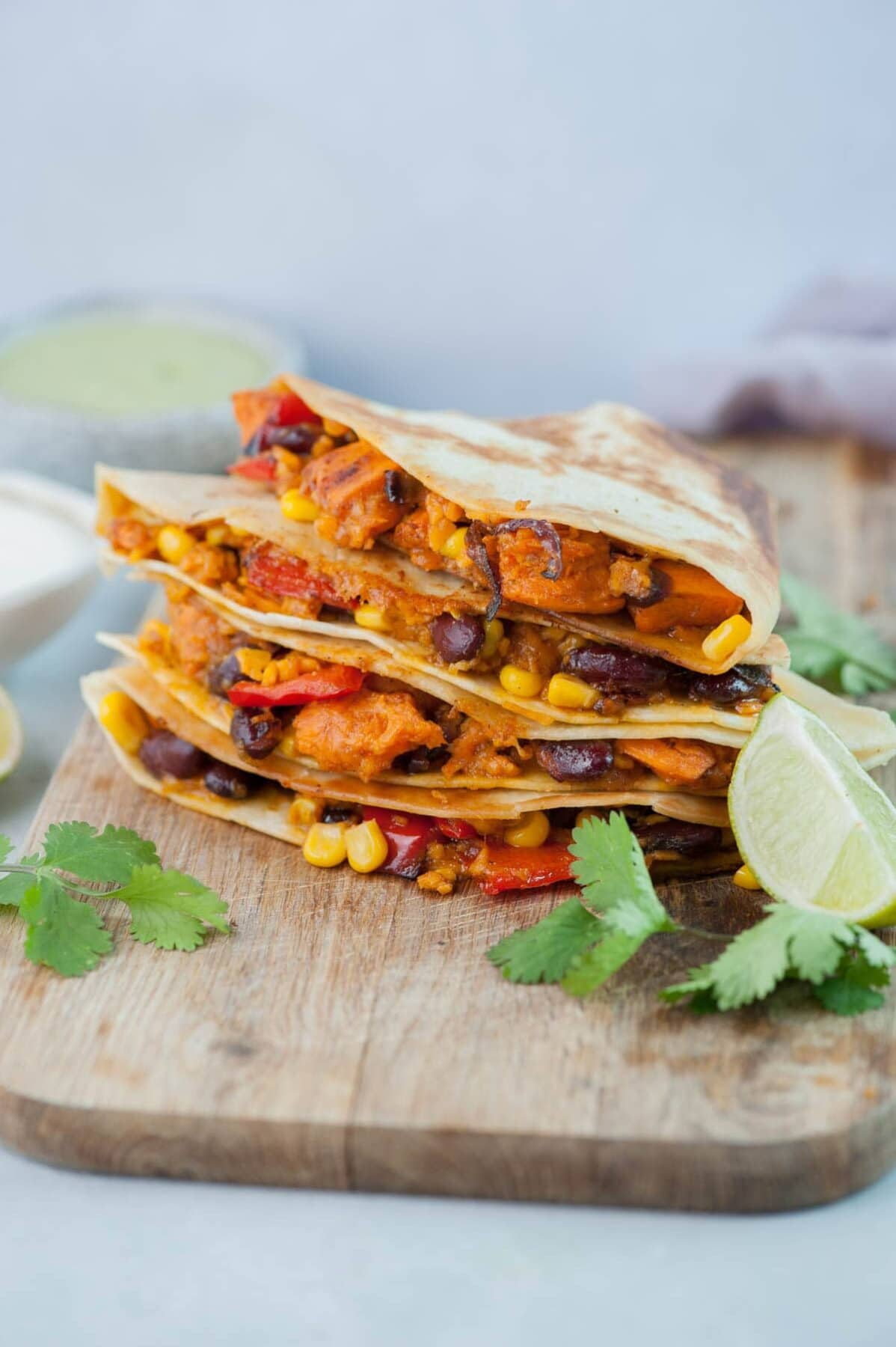 The Best Vegetarian Quesadillas Sweet Potato And Black Bean Quesadilla