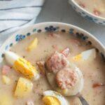Zurek soup pinnable image.